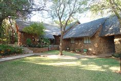 Outside view of the lofty chalets that Silver Leaves Wedding and Conference Venue has to offer