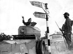 Irish Rolls-Royce armoured car crew member asks Germ.fellow Irish soldier for directions (Co. Army Vehicles, Armored Vehicles, Armored Car, Ian Wood, Armored Fighting Vehicle, Defence Force, Cool Tanks, Military History, Rolls Royce