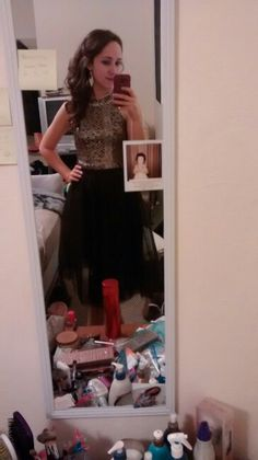 Crop top and tulle skirt :) both from rue 21