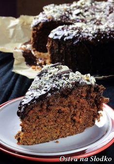 CIASTO MARCHEWKOWE - NAJLEPSZE! Cake Recipes, Dessert Recipes, Desserts, Breakfast Menu, Polish Recipes, Something Sweet, Us Foods, Food And Drink, Cooking Recipes