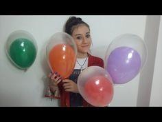 Como encapar garrafa com balão. - YouTube