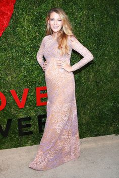 Blake Lively in Michael Kors at God's Love We Deliver Golden Heart Awards 2014 #styleparade #BlakeLively #MichaelKors #pregnancystyle