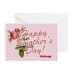 "Celebrate Beverly, The Goldbergs' ""Smother"" on Mothere's Day - Happy Smother's Day Greeting Card"