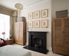 See our portfolio of interior design projects from Edinburgh, London, St Andrews and Surrey Georgian Townhouse, London Townhouse, South Shore Decorating, Blue Couches, Uk Photos, Home Bedroom, Bedrooms, Edinburgh, Design Projects