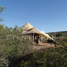 Our luxurious safari tents are designed to create a seamless experience with nature - soft, fluid lines, camouflaged colour palette and perfectly proportioned. Camouflage Colors, Luxury Tents, Gazebo, Safari, Outdoor Structures, House Styles, Nature, Design, Home Decor