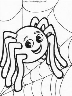 Printable Halloween Coloring Pages . 24 Printable Halloween Coloring Pages . Happy Halloween Printable Coloring Pages Fall Coloring Sheets, Bug Coloring Pages, Spider Coloring Page, Halloween Coloring Sheets, Pumpkin Coloring Pages, Coloring Pages For Boys, Coloring Books, Kids Coloring, Free Coloring