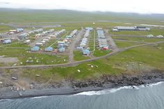 The St. Lawrence Island ShoreZone survey project is funded by the Oil ...(Alaska)