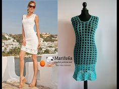 How to crochet ** Summer Dress Tunic ** With Special Thanks to an YouTube Tutorial by  Marinella Marifu6a.