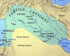 Mesopotamia an area geographically located between the Tigris and Euphrates rivers. Mesopotamia means the land between two rivers. Mesopotamia began as urban societies in southern Iraq in 5000 BC, and ends in the 6th century BC.