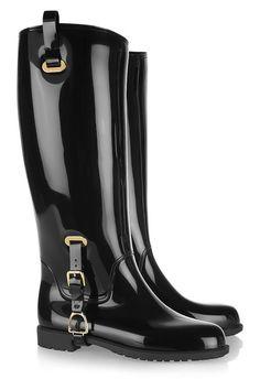 Botte de pluie Odette en caoutchouc Chaussure Botte, Mode Noir, Sandales,  Bottes De 5cf3b33eb2a3