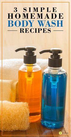 Diy Body Wash, Homemade Body Wash, Natural Body Wash, Homemade Skin Care, Homemade Beauty Products, Diy Skin Care, Natural Products, Natural Facial, Limpieza Natural