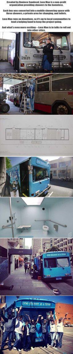 Amazing Organization Helping The Homeless Shower - 7 Pics