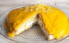 Τούρτα λεμόνι - Lemon Cake
