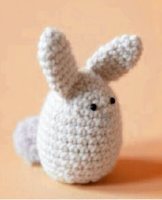 crochet bunny easter or kids toy