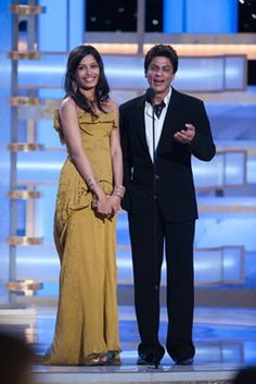 """The Golden Globe Awards - Annual"" (Telecast) Freida Pinto, Shahrukh Khan Golden Globe Award, Golden Globes, Srk Movies, Freida Pinto, Always And Forever, Bollywood Actors, Shahrukh Khan, In Hollywood, Picture Photo"