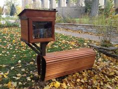 Little Free Library at Friends School of Minnesota