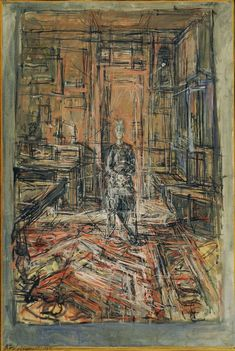 The Artist's Mother by Alberto Giacometti