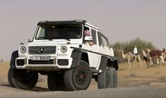 Mercedes G63 AMG 6x6 in Dubai