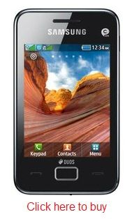 Samsung Star 3 Duos S5222 comes with 1 year manufacturer warranty for Phone and 6 months warranty for in the box accessories. With all these great features and specifications, the phone costs you less than Rs. 5,400.