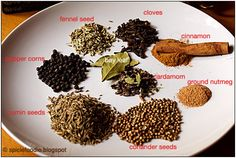 Garam Masala by Spicie Foodie: Make your own and your kitchen will come alive with all the wonderful smells. #Garam_Masala #Spices #Indian #Spicie_Foodie