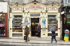 Porto:  Any Portuguese culinary specialty imaginable, from tinned sardines to local cheeses, can be found at the century-old A Pérola do Bolhão. Credit Luis Díaz Díaz