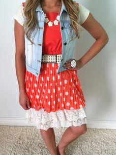 Sweet Tangerine Dress | SexyModest Boutique