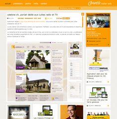 inetis website - Reference detail Tv Design, Design Social, Website, Portal, Social Media