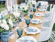 Would be amazing for an outdoor farm wedding! Melody Brandon's Blue Jeans Baby Shower - Inspired By This