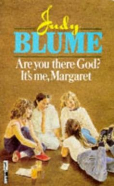 Are You There God? It's Me, Margaret. Is a 1970 book by Judy Blume, typically categorized as a young adult novel, about a girl in sixth grade who grew up without a religious affiliation. Great Books To Read, Used Books, My Books, This Book, Reading Rainbow, Price Book, Love Reading, Book Lists, Childhood Memories