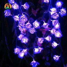 2017 Decoración. rosa Multicolor Batería LED Luces de la Secuencia de Navidad Evento Fiesta de Cumpleaños de La Boda Decoración Alumbramientos Casamento