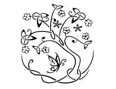 Resultado de imagen para tree tattoo tribal