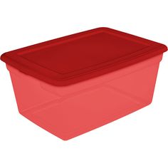 Red for Christmas Storage