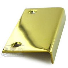 Deltana - Solid Brass 3 inch x 1 1/2 inch Drawer, Cabinet and Mirror Pull in PVD Brass - ( DCM315CR003 ) - additional view