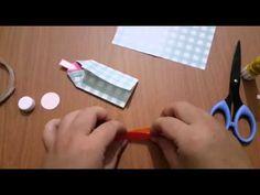 Ruth愛分享-【摺紙教學】紙和服娃娃(色紙摺法) - YouTube