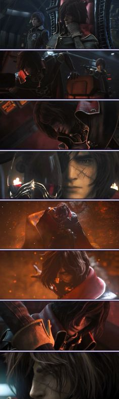 "Script ""Space pirate Captain Harlock"" The movie"
