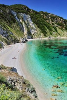 Tuscany's Elba Island is home to many gorgeous beaches, but Sansone might just top the list.