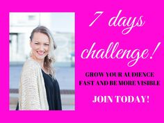 Join me FREE challenge today!