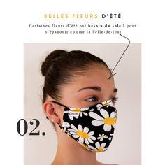 Masquebarrière MY MASK NOIR FLEURS L'ÉMOTION, élégant, tendance et qui s'adapte à toutes vos envies. C'est un masque anti projection, en tissu lavable et réutilisable ; il passe en machine à 60° ! Modèle Unisex Femmes / Hommes / Enfants  Chaque masque est fourni avec 2 filtres : changer le filtre tous les jours Composition du masque : 100% coton L'élastique pour fixer le masque barrière sur le visage est en élasthanne Masque ajustable Sa duréed'utilisation maximale est de 4 heures. Emotion, Composition, Beauty, Filter, The Hours, Face, Fabric, Children, Black People