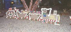 Yard decorations train car and plywood on pinterest