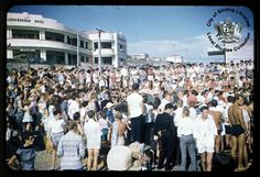 Snake pit Scarborough beach western Australia, where young people came together to dance the rock n roll (Jive) during 50s and early 60s, great times
