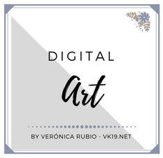 Digital Art Folder Cover for Pinterest by Vk19.net