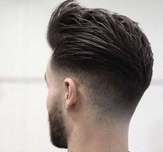 25 Amazing Mens Fade Hairstyles Page 5 of 25 Hairstyles & Haircuts for Men & Women Part 5 is part of Thick hair styles - 25 Awesome pictures of men with the fade hairstyle! Ideas for shaved sides hairstyles Part 5 Mens Hairstyles Fade, Hairstyles Haircuts, Haircuts For Men, Trendy Hairstyles, Medium Hairstyles, Modern Haircuts, Wedding Hairstyles, 2018 Haircuts, Medium Haircuts