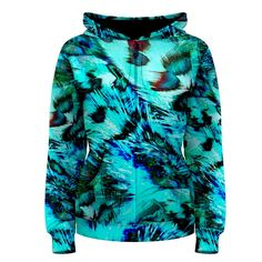 Feathers Women's Zipper Hoodie       Made from: 100% Polyester     Quality YKK zipper     Adjustable drawstring hood     Standard Fit     Machine Washable