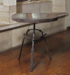 Table  Date: 15th century Culture: French Medium: Iron, oak