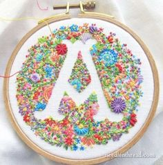 Cool Embroidery Projects for Teens - Step by Step Embroidery Tutorials - Needlework Terminology: Surface Embroidery - Awesome Embroidery Projects for Teenagers - Cool Embroidery Crafts for Girls - Creative Embroidery Designs - Best Embroidery Wall Art, Ro Embroidery Designs, Creative Embroidery, Embroidery Patterns Free, Hand Embroidery Stitches, Crewel Embroidery, Embroidery Techniques, Ribbon Embroidery, Embroidery Kits, Embroidery Monogram