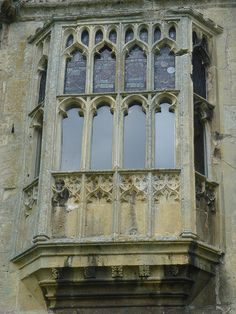 Sixteenth century window at Sudeley Castle  A sixteenth century window. The room to which this window belongs was the nursery for Katherine Parr and Thomas Seymour's child at Sudeley Castle. The nursery was built just before Katherine's arrival there in the summer of 1548 and was attached to her own apartments. Unfortunately the castle suffered severe damage during the English Civil War and most Tudor parts of the castle were destroyed. This included Katherine's apartments. However the…