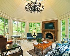 Octagon Sunroom Ideas, Pictures, Remodel and Decor
