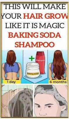 Baking Soda Shampoo: It can Make Your Hair Grow Like It truly is Magic! #BakingSodaRemedies #BakingSodaShampooRecipeBlackHair #BakingSodaForDandruff Baking Soda Dry Shampoo, Baking Soda For Skin, Baking Soda For Dandruff, Baking Soda Health, Apple Cider Vinegar Shampoo, Honey Shampoo, Baking Soda Slime, Baking Soda And Honey, Baking Soda Baking Powder