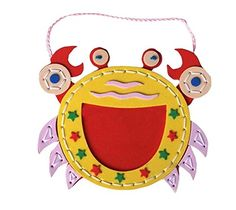 Crab Kids Home Photo Frame Sewing Craft Kit Color Random * See this great product.