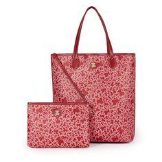 Bolso de Tous en color rojo.venta online con envío gratuíto